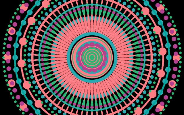 Mandala's kleuren