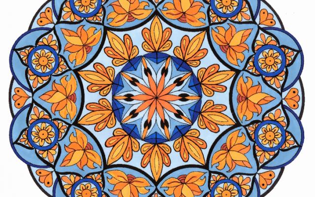 Ontdekking Mandala tekenen