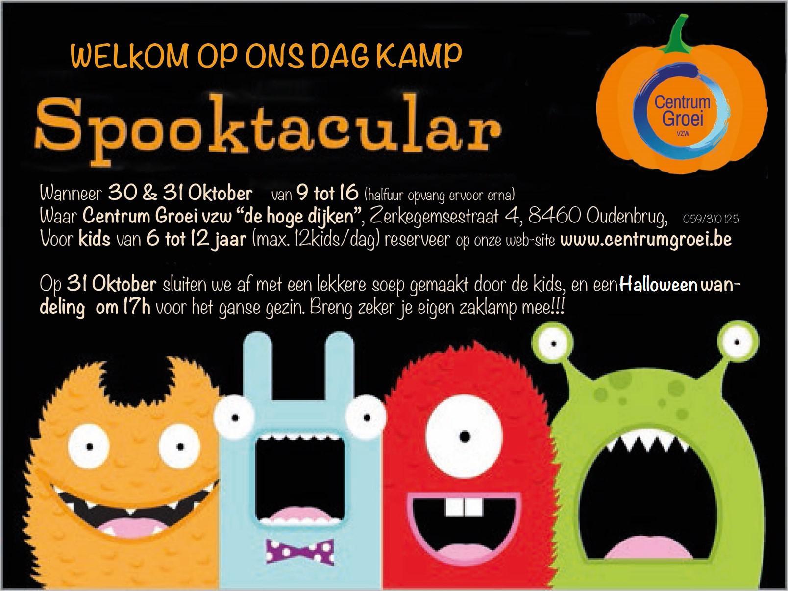 Halloween 30 Oktober.Halloween Kamp